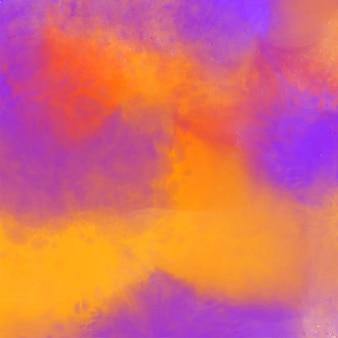 Fondo colorido abstracto de la textura de la acuarela