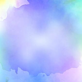 Fondo colorido acuarela abstracta