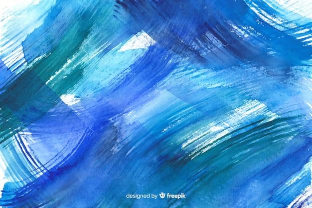 Fondo colorido de acuarela pintado a mano