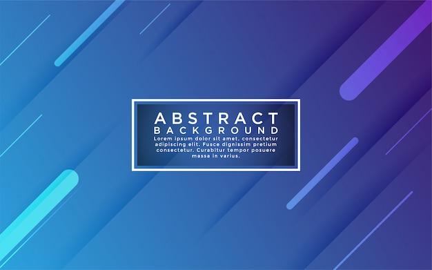 Fondo colorido azul degradado se combinan con forma abstracta y elemento.