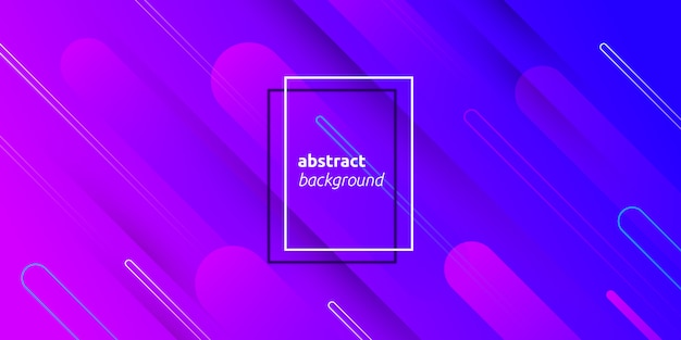 Fondo colorido degradado forma abstracta