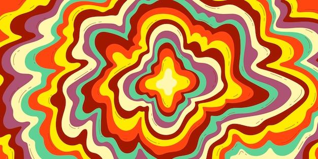 Fondo colorido dibujado a mano