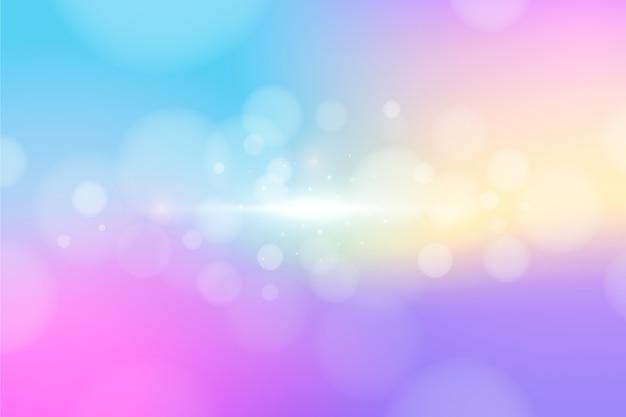 Fondo colorido efecto bokeh