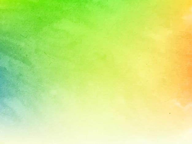 Fondo colorido elegante de la textura del diseño de la acuarela