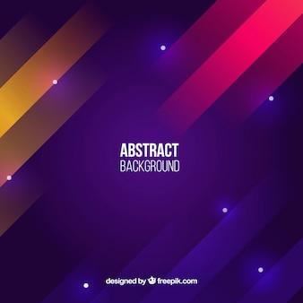 Fondo colorido con estilo abstracto