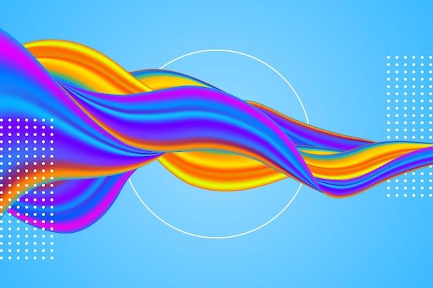 Fondo colorido flujo