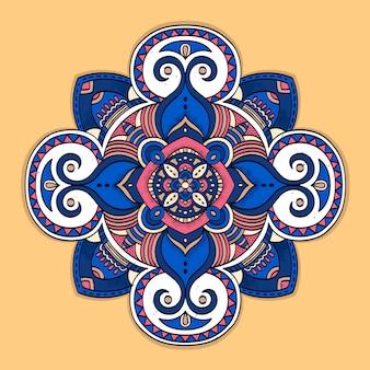 Fondo colorido mandala