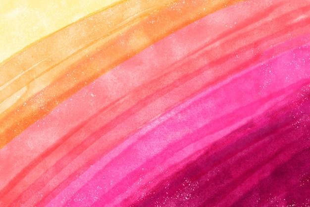 Fondo colorido pintado a mano