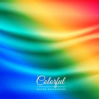 Fondo colorido de tela