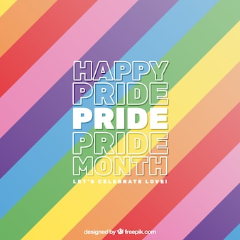 Fondo colorido de world pride