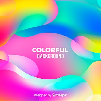 Fondo colorido