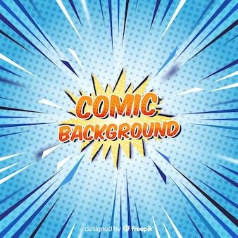 Fondo comic halftone