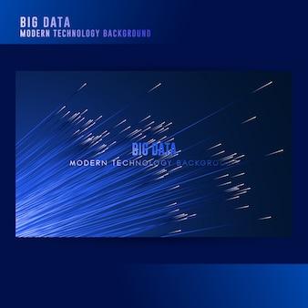 Fondo de concepto de big data