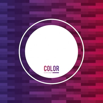 Fondo de concepto de color marco