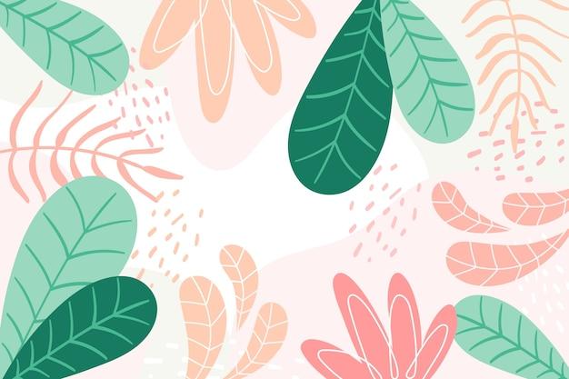 Fondo con concepto floral