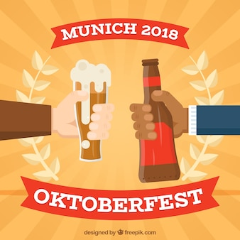 Fondo concepto oktoberfest