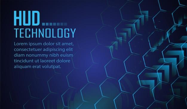 Fondo de concepto de tecnología futura de circuito cibernético candado cerrado en vector de datos digitales