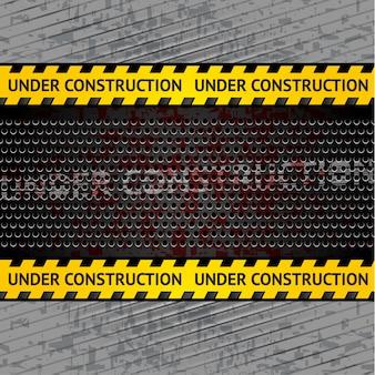 Bajo fondo de construcción