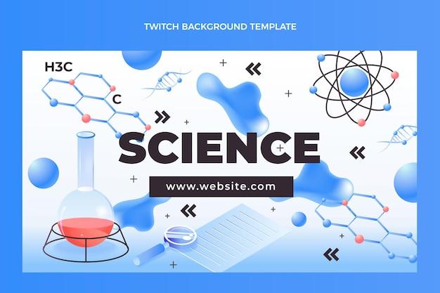 Fondo de contracción de ciencia isométrica