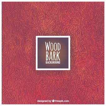 Fondo de corteza de madera