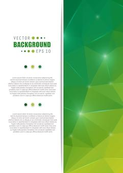 Fondo creativo abstracto del vector.