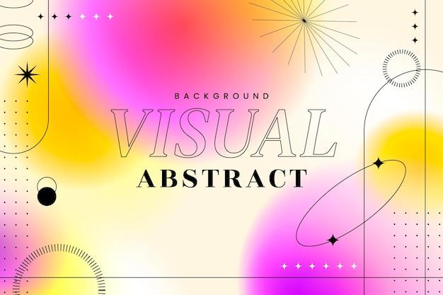 Fondo creativo abstracto