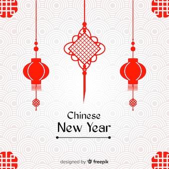 Fondo creativo de año nuevo chino