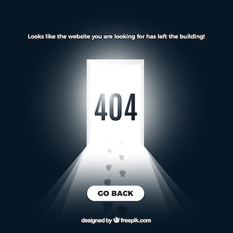 Fondo creativo de error 404