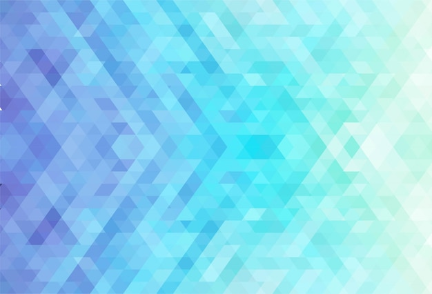 Fondo creativo de formas geométricas coloridas abstractas