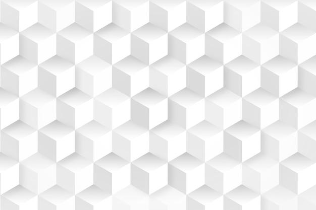 Fondo de cubos en estilo de papel 3d