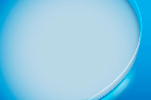 Fondo de curva azul cerúleo
