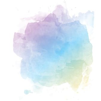 Fondo de acuarela en colores pastel