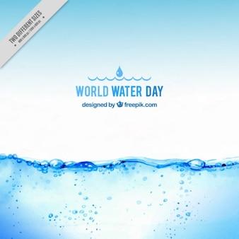 Fondo de agua realista