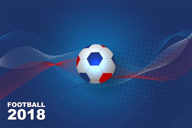 Deportes De Pelota Descargar Vectores Gratis: Fondo De Pelota En El Campo De Fútbol
