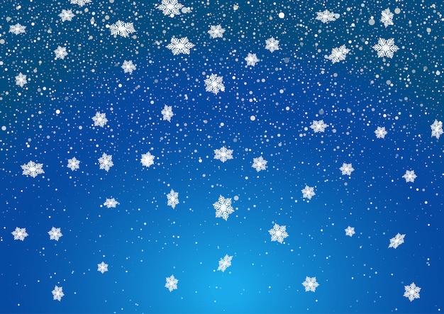 Vector Copo De Nieve: Conjunto De Copos De Nieve Blancos