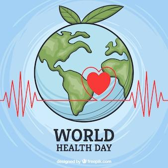 Fondo de día mundial de la salud