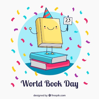 Fondo de día mundial del libro