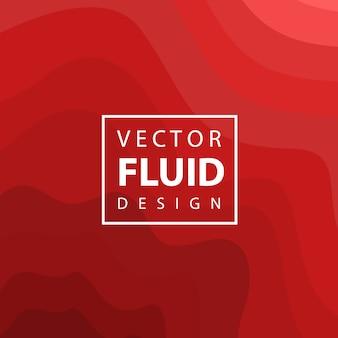 Fondo de diseño colorido fluido de vector