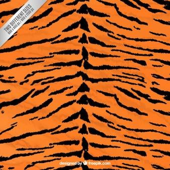 Fondo de estampado de tigre