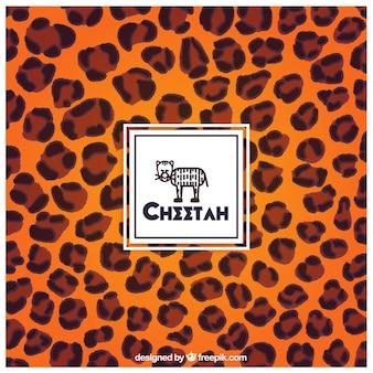 Fondo de estampado del guepardo