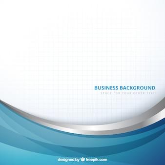 Fondo de negocios en estilo abstracto