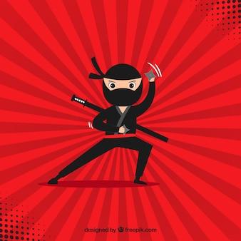 Fondo de ninja