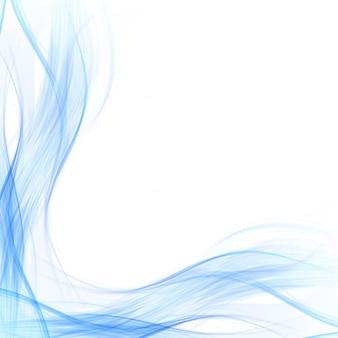 Fondo de onda azul de negocios con estilo abstracto