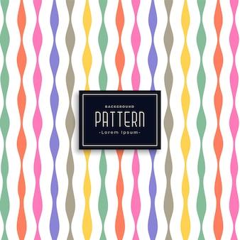 Fondo de patrón de cumpleaños de estilo de cinta colorida