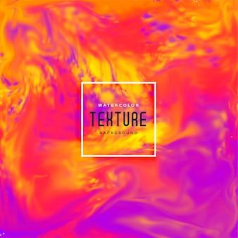 Fondo de textura de flujo de tinta vibrante brillante