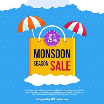 Fondo de venta de temporada de monzón