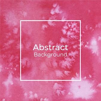Fondo decorativo abstracto de la textura de la acuarela roja