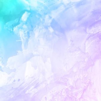 Fondo decorativo acuarela abstracta colorida