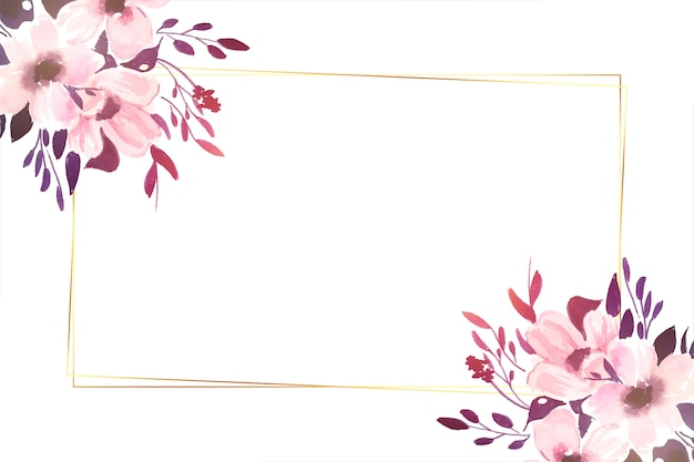 Fondo decorativo de hermosas flores