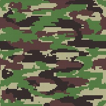 Fondo decorativo militar del modelo del camuflaje.